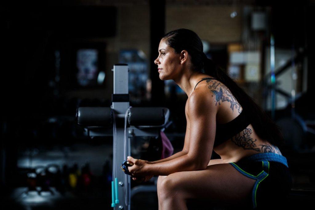 Athlete Shantelle Thomspon